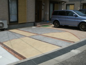 素敵な駐車スペースに!