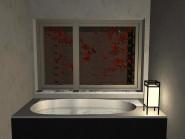 優雅な浴室