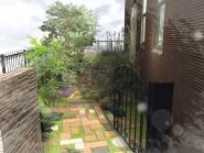 カントリー風な中庭