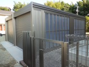 既存を再利用した日本庭園の外構