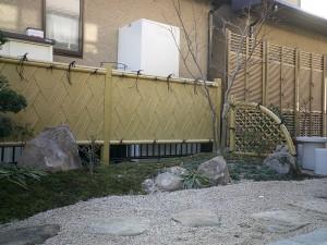 こだわりの坪庭、和風庭園