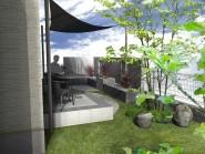 庭にプライベート空間