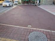カラーアスファルトの舗装