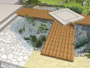 庭に潤いを、時の流れにゆとりを感じさせる「水のある空間」